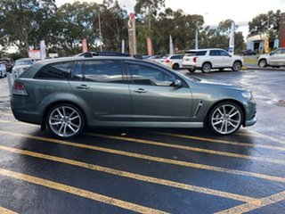 2014 Holden Commodore VF MY14 SV6 Sportwagon Storm Grey 6 Speed Sports Automatic Wagon.