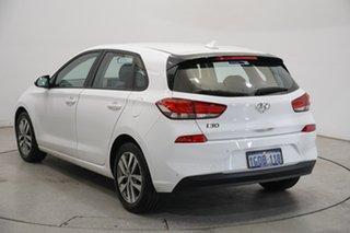2018 Hyundai i30 PD2 MY18 Active Polar White 6 Speed Sports Automatic Hatchback.