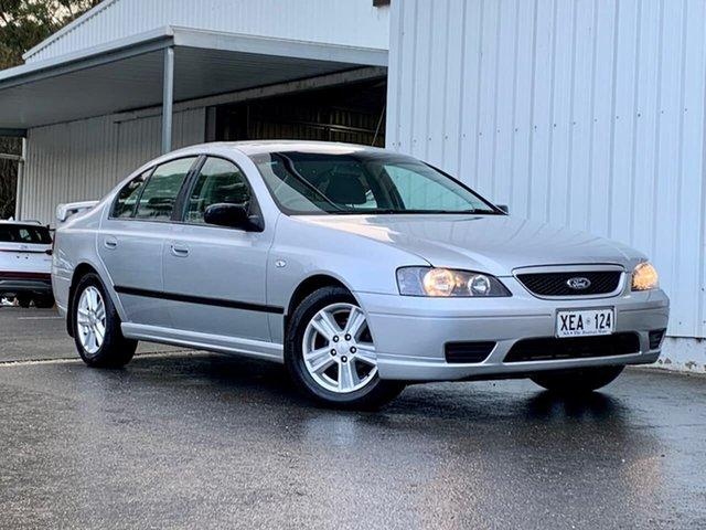 Used Ford Falcon BF Futura Clare, 2005 Ford Falcon BF Futura Silver 4 Speed Sports Automatic Wagon