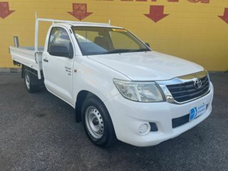 2012 Toyota Hilux GGN15R MY12 SR White 6 Speed Automatic Single Cab.