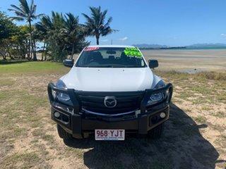 2018 Mazda BT-50 XT White 6 Speed Manual Dual Cab.