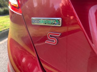 2015 Ford Fiesta WZ Sport Red 6 Speed Sports Automatic Dual Clutch Hatchback