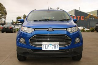 2017 Ford Ecosport BK Titanium 1.5 Blue 6 Speed Direct Shift Wagon.