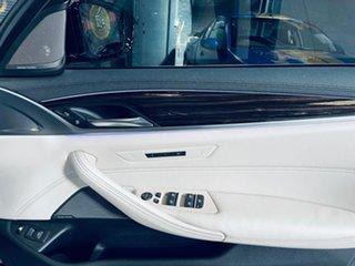 2017 BMW 5 Series G30 530e Steptronic Luxury Line Black 8 Speed Sports Automatic Sedan Hybrid