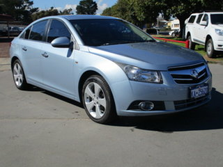 Holden Cruze JG CDX Blue 6 Speed Automatic Sedan.