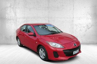 2013 Mazda 3 BL10F2 MY13 Neo Red 6 Speed Manual Sedan.
