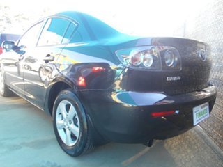 2008 Mazda 3 BK10F2 MY08 Neo Sport Black 4 Speed Sports Automatic Sedan.