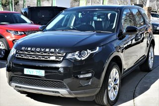 2016 Land Rover Discovery Sport L550 17MY TD4 150 SE Black 9 Speed Sports Automatic Wagon