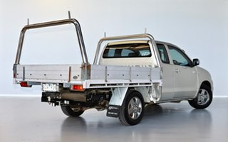2010 Toyota Hilux GGN15R MY10 SR5 Xtra Cab 4x2 Silver 5 Speed Automatic Utility.