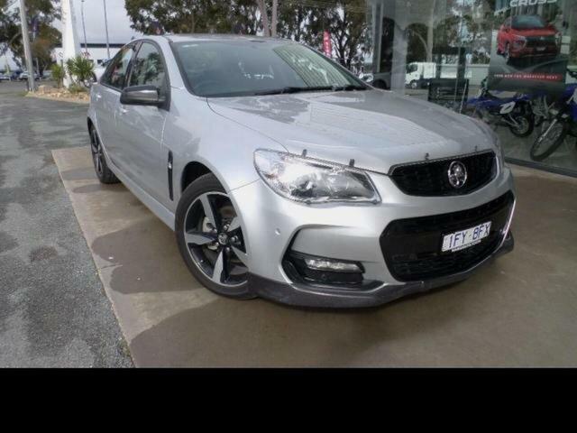 Used Holden Commodore Vfii MY16 SV6 Black Edition Wangaratta, 2016 Holden Commodore Vfii MY16 SV6 Black Edition Silver 6 Speed Automatic Sedan