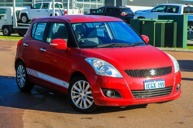 Used Suzuki Swift FZ RE2 Rockingham, 2013 Suzuki Swift FZ RE2 Red 4 Speed Automatic Hatchback