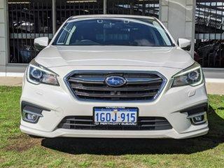 2018 Subaru Liberty B6 MY18 2.5i CVT AWD Premium White 6 Speed Constant Variable Sedan.