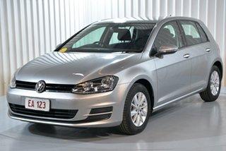 2017 Volkswagen Golf VII MY17 92TSI DSG Trendline Silver 7 Speed Sports Automatic Dual Clutch.