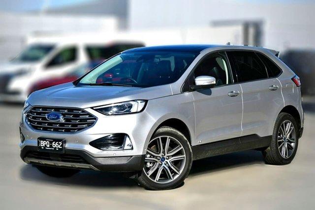 Used Ford Endura CA 2019MY Titanium Pakenham, 2019 Ford Endura CA 2019MY Titanium Silver 8 Speed Sports Automatic Wagon