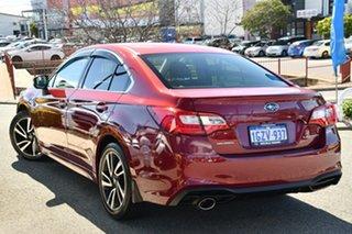 2020 Subaru Liberty B6 MY20 2.5i CVT AWD Red 6 Speed Constant Variable Sedan.