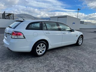 2010 Holden Commodore VE MY10 Omega Sportwagon White 6 Speed Sports Automatic Wagon