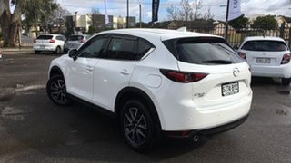 2018 Mazda CX-5 KF4WLA GT SKYACTIV-Drive i-ACTIV AWD White 6 Speed Sports Automatic Wagon.