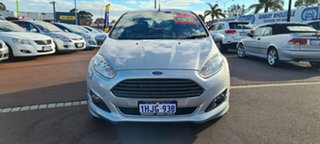 2013 Ford Fiesta WZ Sport PwrShift Silver 6 Speed Sports Automatic Dual Clutch Hatchback.