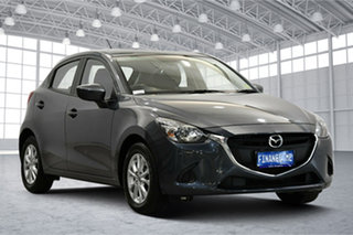 2015 Mazda 2 DJ2HA6 Maxx SKYACTIV-MT Graphite 6 Speed Manual Hatchback.