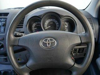 2008 Toyota Hilux KUN16R MY09 SR 4x2 White 5 Speed Manual Utility
