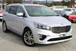 2019 Kia Carnival YP MY20 Platinum Silver 8 Speed Sports Automatic Wagon.