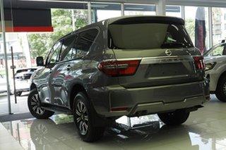 2021 Nissan Patrol Y62 MY21 TI Gun Metallic 7 Speed Sports Automatic Wagon.