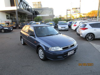 2001 Ford Laser KN LXI Blue 4 Speed Automatic Hatchback.