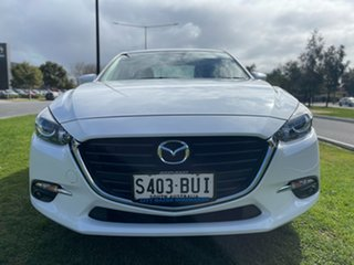 2018 Mazda 3 BN5278 Maxx SKYACTIV-Drive Sport Snowflake White 6 Speed Sports Automatic Sedan.