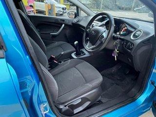 2013 Ford Fiesta WZ Trend Blue 5 Speed Manual Hatchback.