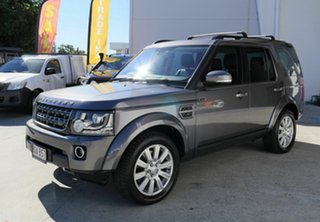 2015 Land Rover Discovery Series 4 L319 MY16 TDV6 Grey 8 Speed Sports Automatic Wagon.