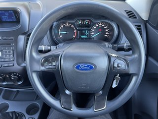 2014 Ford Ranger PX XL White/280514 6 Speed Manual Cab Chassis