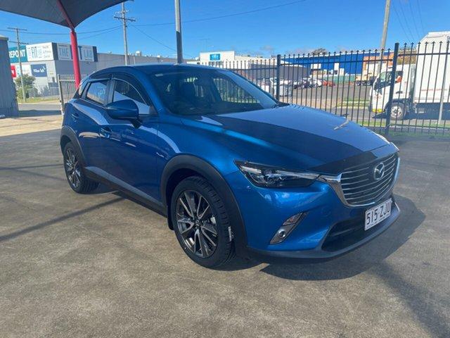 Used Mazda CX-3 DK S Touring (AWD) Toowoomba, 2016 Mazda CX-3 DK S Touring (AWD) Blue 6 Speed Automatic Wagon