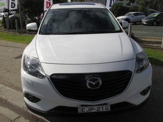 2014 Mazda CX-9 MY14 Grand Touring White 6 Speed Auto Activematic Wagon.