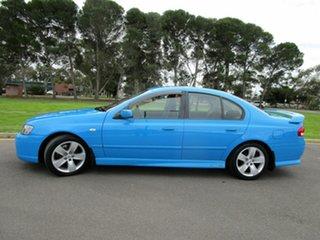 2006 Ford Falcon BF MkII XR6 Blue 4 Speed Auto Seq Sportshift Sedan