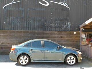 2011 Holden Cruze JH Series II MY11 SRi Green 6 Speed Sports Automatic Sedan.