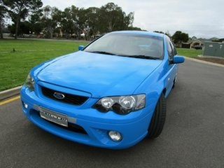2006 Ford Falcon BF MkII XR6 Blue 4 Speed Auto Seq Sportshift Sedan.