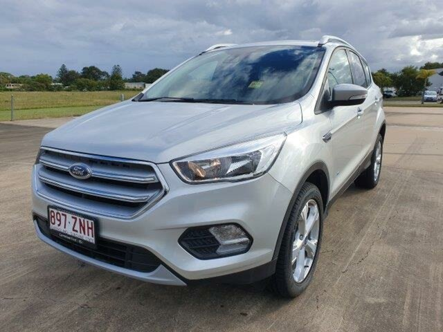 Used Ford Escape ZG 2019.75MY Trend Townsville, 2019 Ford Escape ZG 2019.75MY Trend Moondust Silver 6 Speed Sports Automatic Dual Clutch SUV