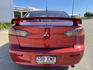 2016 Mitsubishi Lancer CF MY16 ES Sport Red/220817 6 Speed Constant Variable Sedan