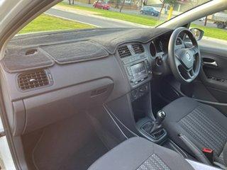 2016 Volkswagen Polo 6R MY16 66TSI Trendline White 5 Speed Manual Hatchback