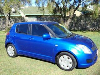 2009 Suzuki Swift RS415 GLX Blue 4 Speed Automatic Hatchback.