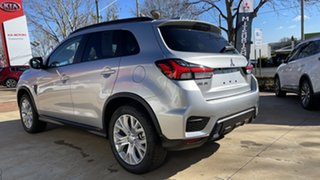 2021 Mitsubishi ASX XD MY21 ES Plus 2WD Sterling Silver 1 Speed Constant Variable Wagon.