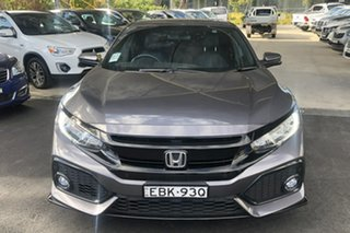 2019 Honda Civic MY20 RS Modern Steel Continuous Variable Hatchback.