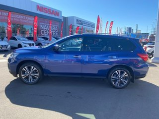2019 Nissan Pathfinder R52 Series III MY19 Ti X-tronic 2WD Caspian Blue 1 Speed Constant Variable