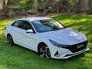 2021 Hyundai i30 CN7.V1 MY21 Active Polar White 6 Speed Auto Sequential Sedan