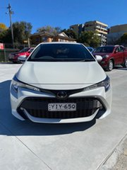 2018 Toyota Corolla Mzea12R SX White 10 Speed Constant Variable Hatchback