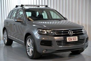 2014 Volkswagen Touareg 7P MY14 V6 TDI Grey 8 Speed Automatic Wagon