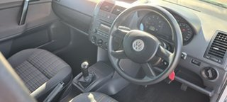 2006 Volkswagen Polo 9N MY2007 Match Silver 5 Speed Manual Hatchback