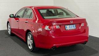 2008 Honda Accord Euro CU Milano Red 5 Speed Automatic Sedan