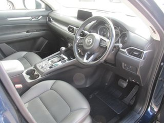2017 Mazda CX-5 KF4W2A Touring SKYACTIV-Drive i-ACTIV AWD Blue 6 Speed Sports Automatic Wagon