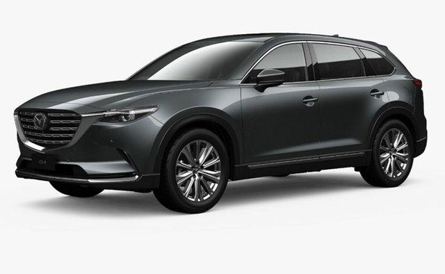 Demo Mazda CX-9 TC Azami LE SKYACTIV-Drive i-ACTIV AWD Toowoomba, 2021 Mazda CX-9 TC Azami LE SKYACTIV-Drive i-ACTIV AWD Grey 6 Speed Sports Automatic Wagon